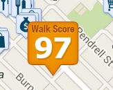 Regency Walkscore